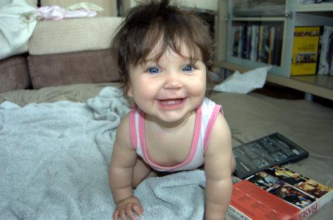 Mersina smiling